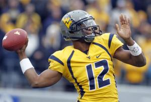 Is Geno Smith the first QB off the board in our latest mock draft?  Find out now!